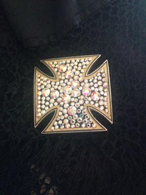 Saworski cross buckle for Sale in Scottsdale, AZ