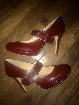Dark Red Gianni Bini high heels for Sale in Chattanooga, TN