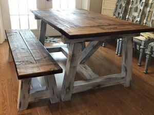 Farmhouse Table (Custom built dining room tables) for Sale in Bartow, FL