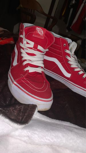 Vans shoes high top red for Sale in Uniontown, OH