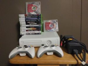 Xbox 360 and 15 games for Sale in Wellman, IA