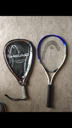 HEAD Tennis Racket and Racket Ball Racket for Sale in Bangor, ME