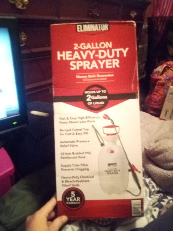 2 gallon sprayer