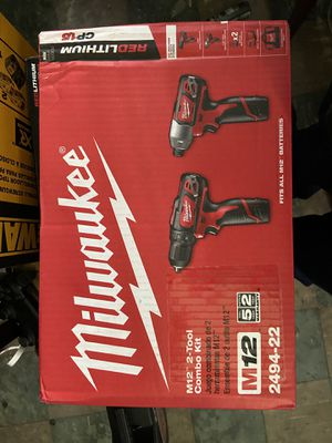 Milwaukee M12 2-Tool Combo Kit for Sale in Dallas, TX