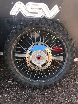 Rear wheel complete fits Kawasaki KX 250 F or KX 450 F for Sale in Phoenix, AZ