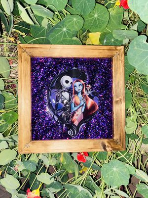 Jack & Sally canvas 8in X 8in (NO HOLDS) for Sale in San Jose, CA