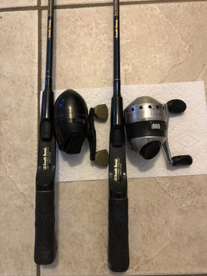 Brand new pair of South Bend casting rods with reels for Sale in Peoria, AZ