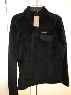 Authentic Patagonia black Women Re Tool Snap-T P/O Slum Fit. Brand new, never worn size Small. for Sale in New York, NY