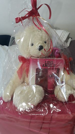 Love Angels perfume and cream with teddy bear included for Sale in Miami, FL