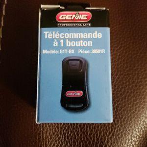 Genie Single Button Garage Door Opener Remote for Sale in Raleigh, NC