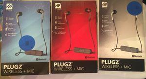Brand New- Plugz Bluetooth wireless earbuds for Sale in Smyrna, TN