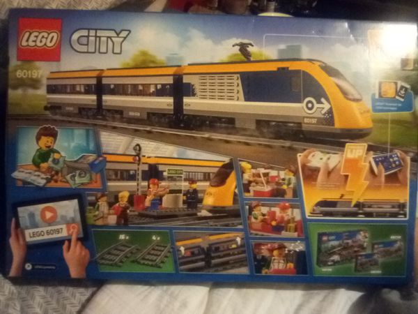 Lego City passenger train set