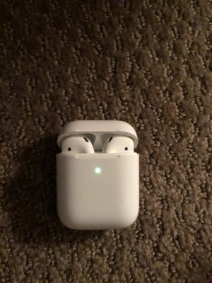 Apple air pods airpod 2 wireless headphone speakers Bluetooth for Sale in Santa Ana, CA
