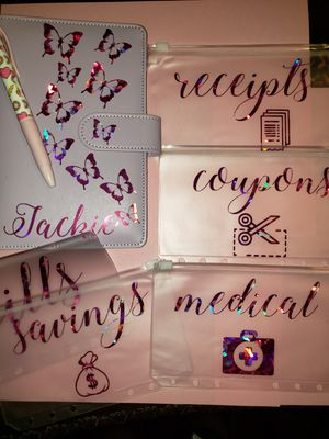 Personalized budget binders different colors for Sale in Hacienda Heights, CA
