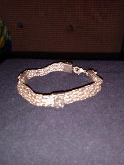 Vintage Silver Mutistranded Chain Bracelet for Sale in Pensacola,  FL