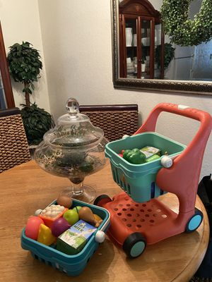 B. Toys shopping cart + accessories for Sale in Fresno, CA