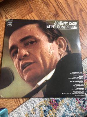 Vinyl Johnny Cash at Folsom Prison for Sale in Philadelphia, PA