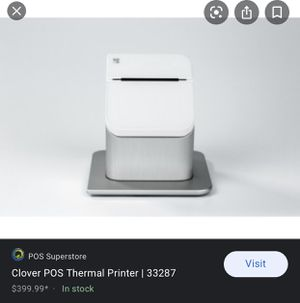 Clover pos printer for Sale in Chesterfield, MO