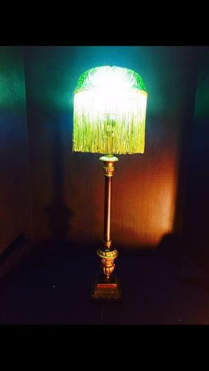 Green lamp for Sale in Grosse Pointe, MI
