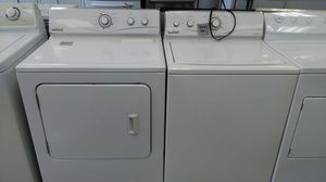 Maytag Neptune washer and dryer set (white) for Sale in Cleveland, OH