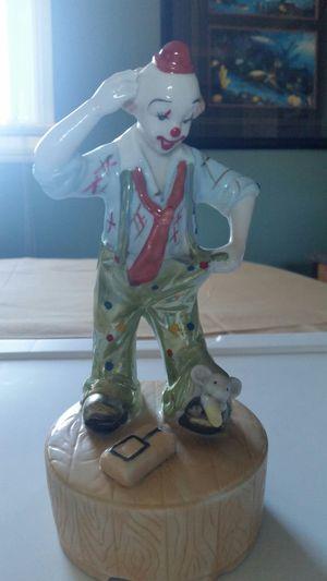 Clown Music Figurine for Sale in San Diego, CA