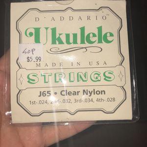 D'Addario Ukulele Strings for Sale in San Diego, CA