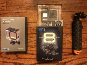 BRAND NEW GoPro Hero 8 & Protective Housing & Handgrip BUNDLE for Sale in Canton, OH