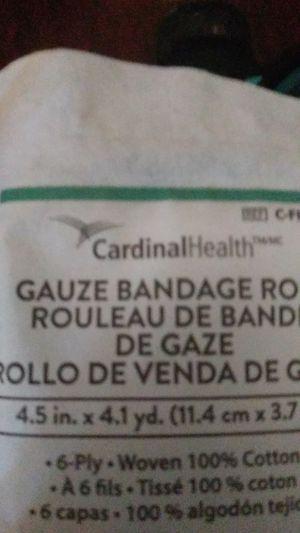 Cardinal health gauze bandage roll for Sale in Cudahy, CA