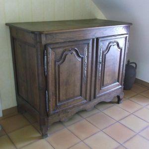 Oak buffet, early nineteenth From Normandy, France for Sale in Port Charlotte, FL