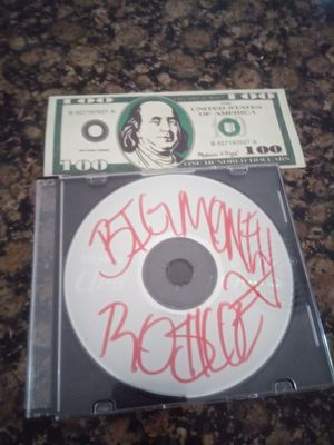 Big Money Roscoe Album Cd Physical Copy for Sale in Fort Lauderdale, FL