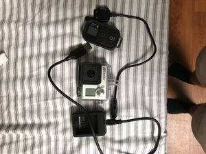 GoPro Hero 3+ Black with Wi-Fi remote and Rechargeable Battery for Sale in Austin, TX