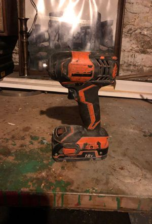 Rigid 18v drill with battery for Sale in Boston, MA
