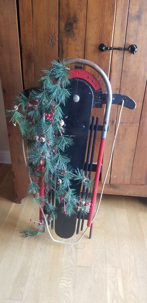 antique 1930's snow plane sled..amazing for Sale in Spring Grove, IL