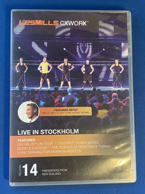 Les Mills BodyPump Release 14 DVD and Notes - (MIssing Music CD). Playing good. for Sale in Sunrise, FL