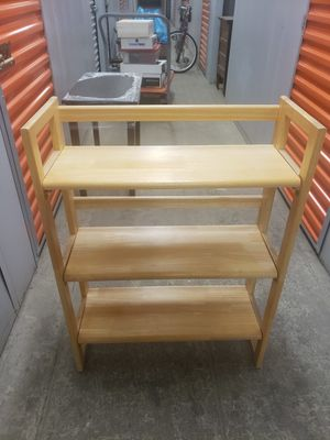 Solid Oak Foldable Shelves for Sale in Chicago, IL