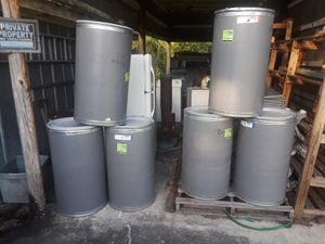 Cardboard drums with seal removal lids for Sale in Orlando, FL