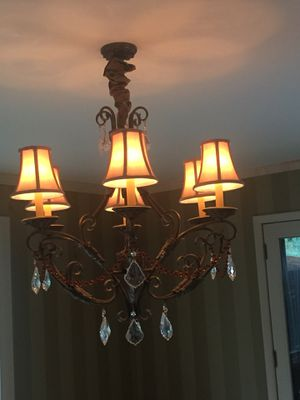 Crystal chandelier for Sale in Atlantic City, NJ