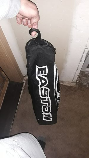Easton softball bag with balls nd nike gloves for Sale in Tacoma, WA