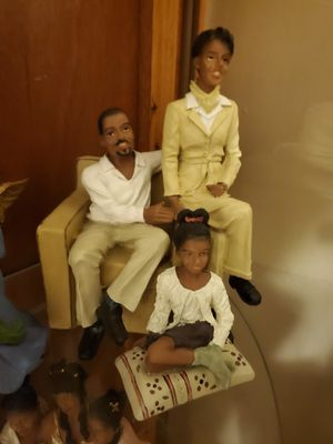 African American Family Figurine for Sale in Greensboro, NC
