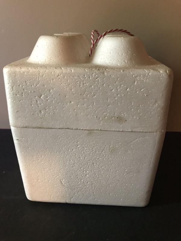 Vintage Old Milwaukee Beer Styrofoam Cooler 6 pack