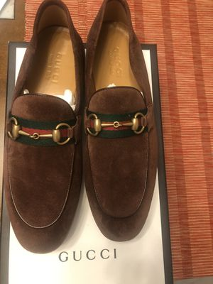 Gucci suede horsebit loafer for Sale in Queens, NY