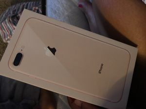 iPhone 8 Plus rose gold brand new still in the box for Sale in Nellis Air Force Base, NV