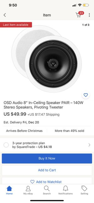 OSD Speakers for Sale in Perris, CA