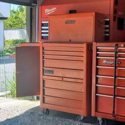 Snap On Rollers Tool Cabinets Chests Work Tables Carts Storage Ceiling Mounts Heavy Duty  for Sale in Rancho Cucamonga, CA