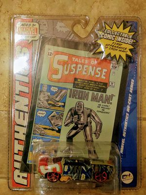 Iron Man Marvel Tales of Suspense Die-cast toy car 1:64 Collectible comic for Sale in Chandler, AZ