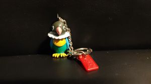 Pokemon CHATOT Poke Ball Keychain Keyring Perap Parrot Music Note Avian for Sale in West Chicago, IL
