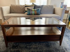Crate & Barrel coffee table for Sale in San Diego, CA