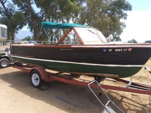 Wood boat for Sale in Beaumont, CA