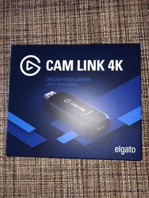 Elgato Cam Link 4K for Sale in Pinole, CA