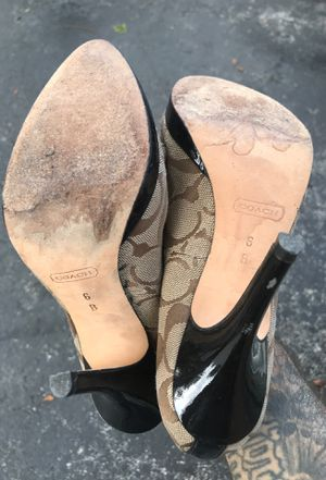 Coachh size 6 heals for Sale in Boca Raton, FL